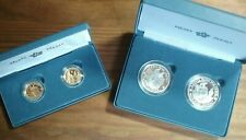 400th Anniversary of the Mayflower Voyage Gold & Silver two coin 2020 proof set