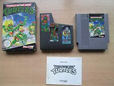 Nintendo NES - Teenage Mutant Hero Turtles - BOXED Game - Manual INCLUDED