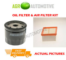 PETROL SERVICE KIT OIL AIR FILTER FOR FORD FIESTA 1.2 82 BHP 2008-