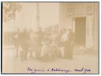 Madagascar, Une journée à Ambohimanga Vintage citrate print.  Tirage citrate