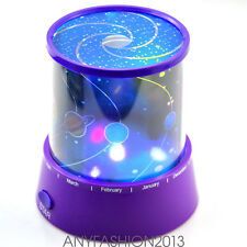 Fashion Starry Night Sky Projector LED Light Lamp Night Light Home Decor WL9T