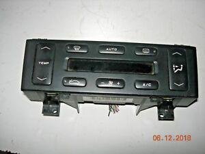 Peugeot 406 mk2 a/c aircon heater control unit 96303375ZL / 658636N