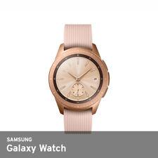 "Samsung 2018 SM-R810 Galaxy Watch 42mm Bluetooth Ver 1.2"" WiFi NFC GPS Rose Gold"