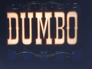 16mm Film Feature: Dumbo (1940), Animation, IB Tech