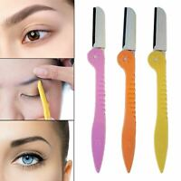 3 Pack Eyebrow Shaper Dermaplaning Eye Brow Shaping Safe Professional Razor Tool