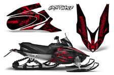 Yamaha APEX XTX Decal Wrap Graphic Kit Sled Snowmobile 2006-2011 NIGHTWOLF RED