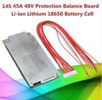 14s 45a 120a 48v lipo Li-ion balance protection BMS PCB Battery 51,8v 3,7v 58,8v