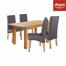 Argos Wood Veneer Up to 4 Seats Table & Chair Sets