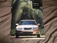1995 Mazda Millenia Luxury Sedan Original Color Brochure Prospekt