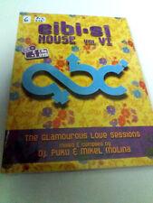 EIBI.SI HOUSE THE GLAMOUROUS LOVE SESSIONS VOL. VI 2CD + DVD PRECINTADO SEALED