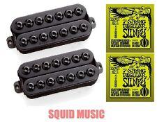 Seymour Duncan SH-8 Invader 7 String Set Black Seven ( 2 ERNIE BALL STRINGS )