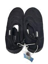 Fresko Shoes Mens Size 12 US 45 EUR Black Slip On Water Swim Shoe Style #M1321