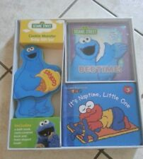 brand New Sesame street cookie monster baby gift set