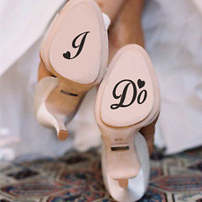 """I DO"" - Shoe decals 