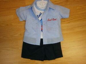 Mabini Kids designer Baby Boys Clothes Spanish 3 piece set Newborn 0-3 m 3-6 m