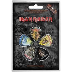 Iron Maiden Eddie 5 Plectre Paquet (Ro )