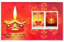 CANADA 2017 S/SHEET,CELEBRATING DIWALI JOINT ISSUE WITH INDIA (INDIA)