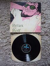Rolf Harris Relax With Rolf Australian 1961 Columbia Import Vinyl Record Album