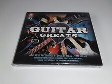 GUITAR GREATS - 2 CD'S 40 CLASSIC RECORDINGS BRAND NEW SEALED