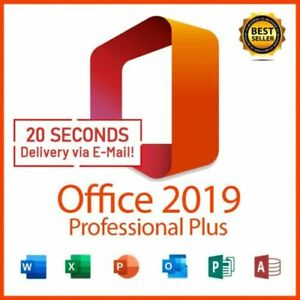 MICROSOFT®OFFICE 2019 PROFESSIONAL PLUS 32/64bit License Key🔥Instant Delivery