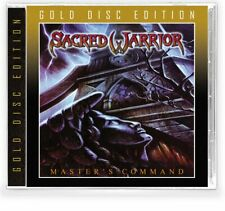 SACRED WARRIOR – Master's Command (NEW*LIM.500 GOLD ED.*US WHITE METAL*RECON)
