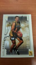 HAWTHORN GREAT LUKE HODGE HAND SIGNED SELECT 2003 XL ROOKIE CARD COMMON