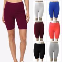 Women Cycling Shorts Dancing Gym Biker Hot Pants Leggings Active Casual Sports