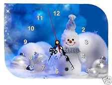 horloge pendule murale REF F02  A PERSONNALISER PHOTO PRENOM TEXTE AU CHOIX