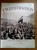 L'ILLUSTRATION N°4726 - 31 AOUT 1935 - FRONT PAYSAN A ROUEN