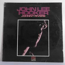 "33T Johnny RIVERS Disque LP 12"" JOHN LEE HOOKER - SUNSET 50025 Frais Reduit"