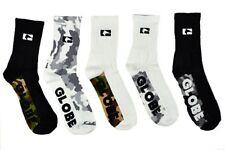 Globe Socks 5 Pack Malcom Crew Camo SIZE 7-11 Skateboard Sox