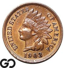 1903 Indian Head Cent Penny