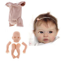 22inch Reborn Kits Silicone Head Full Limb Mold Baby Doll & Cloth Body DIY
