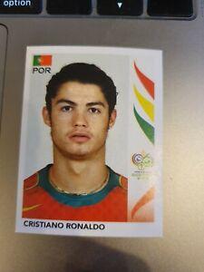 Panini Germany 2006 Sticker - No 298 Cristiano Ronaldo