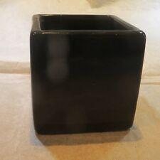 Cube noir pouvant servir de cendrier «  Cusco – Shine Black Square s » 29010600