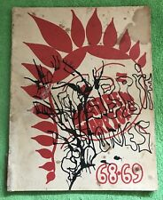 RARE! Castro Valley, California High School 1969 Yearbook & PLUS FREE GIFT!