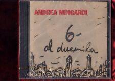ANDREA MINGARDI-6- AL DUEMILA CD NUOVO SIGILLATO