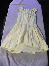 GEORGE SPRING SUMMER EASTER DRESS YELLOW GIRLS SIZE 5