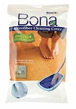 """BONA MICROFIBER CLEANING COVER - 8""""X15"""" MOP HEAD 2 PACK"""