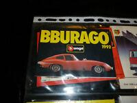 petit Catalogue BURAGO 1992