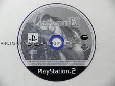 En Loose Jeu LAKE MASTERS EX playstation 2 PS2 sony francais pêche fish poissons
