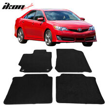 Fits 12 17 Toyota Camry Black Nylon Front Rear Floor Mats Carpets 4pc Fits 2012 Toyota Camry
