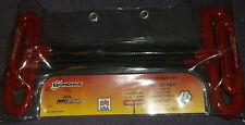 46587 BONDHUS 22.9cm Nudo mango ' t'AGARRE ACOLCHADO 8 piezas Hex Llave Allen