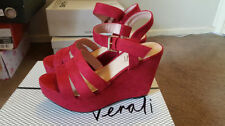 High (3 in. and Up) Wedge Strappy Medium (B, M) Heels for Women