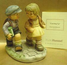 "Berta Hummel Bh160 ""Catching Up"" Goebel 2001 Figurine *Thailand* W/Coa"