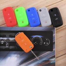 Silicone Car Auto Remote Key Cover Case For Volkswagen VW Series BG