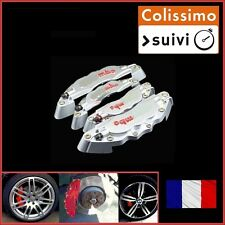 CACHE ETRIER DE FREIN TYPE BREMBO GRIS UNIVERSEL TUNING RENAULT SCENIC 1,2,3,4