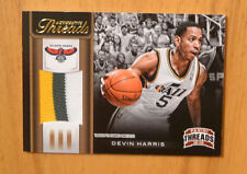 Devin Harris 2012-13 Panini Threads 3 Color Jersey Relic #D 25/25
