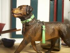 Jaapi large PISTACHIO dog collar - fit Breyer Companion Animal, not for real dog