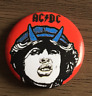 ACDC  Button Badge - CLASSIC ROCK BAND Highway To Hell ,Powerage 25MM Pin AC/DC